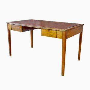 Mid-Century English Oak Desk