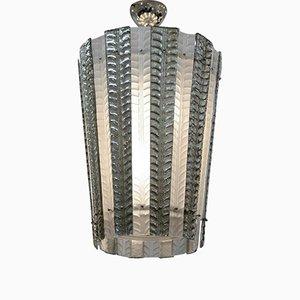 Vintage Murano Glass Lantern Ceiling Light