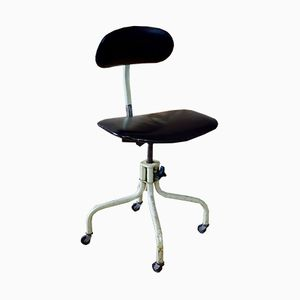Vintage Industrial Office Swivel Chair from Leabank