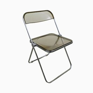 Model Plia Folding Chair by Giancarlo Piretti for Castelli, 1970s