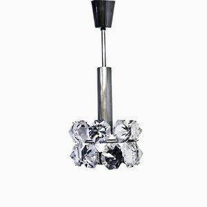 Lámpara de araña de cristal de Bakalowits para Bakalowits & Söhne, años 60