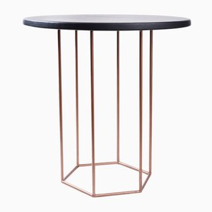 Black & Copper Alejandro Coffee Table by Kerem Aris for Uniqka