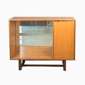 Mid-Century Danish Teak Display Cabinet, 1960s
