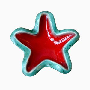 Vintage Starfish Ceramics by Fermand Elchinger for Elchinger Poterie