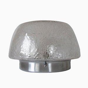 Lampada da soffitto o da parete vintage in vetro con bolle