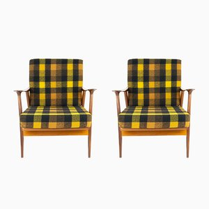 Vintage Spanish Armchairs from AG Barcelona, 1960s, Set of 2