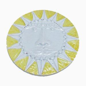 Grand Soleil en Céramique par Enzo Bioli pour Il Picchio, 1960s