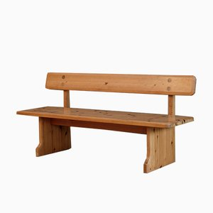 Mid-Century Pine Bench from Karl Andersson & Söner, 1960s