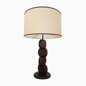 Oregon Pine Table Lamp, 1930s