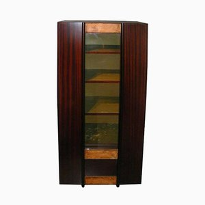 Mahogany Bookcase by André Sornay, 1930s