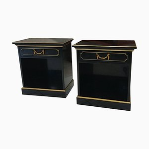 Bedside Tables by Maurice Hirch, 1940s, Set of 2