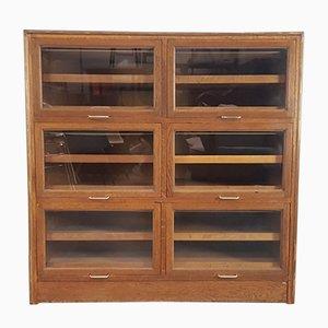 Vintage Haberdashery Six Section Cabinet