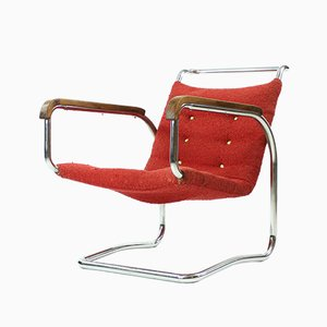 H-91 Lounge Chair by Jindřich Halabala for UP Zavody, 1930s