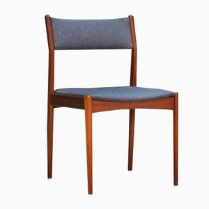 Vintage Danish Teak Dining Chairs, Set of 4