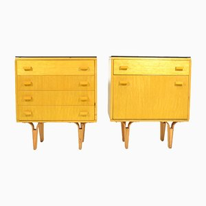 Bedside Tables from Nový Domov, 1970s, Set of 2