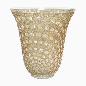 Vintage Damiers Vase von René Lalique