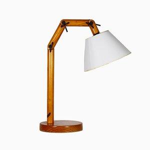 Lampada vintage in legno