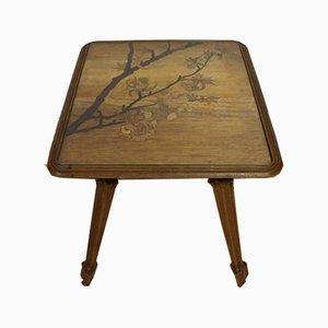 Tavolino Art Nouveau di Emile Gallé