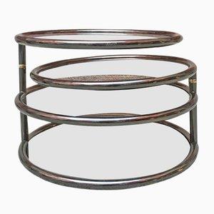 Tavolino a quattro piani, anni '70