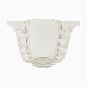 Jarrón Honfleur vintage de René Lalique