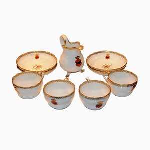 Antikes Imperial Teeservice von Kaiserlichen Hofmanufaktur