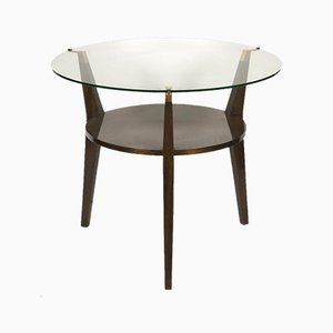 Table d'Appoint ou Guéridon Or Vintage par Raphael Raffel