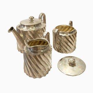 Servizio da caffè antico argentato di Würbel & Czokally