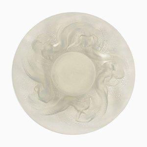Schillernde Vintage Calypso Glasschale von René Lalique