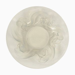 Vintage Opalescent Calypso Glass Bowl by René Lalique