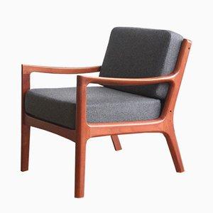 Dänischer Vintage Sessel aus Teak von Ole Wanscher für France & Son