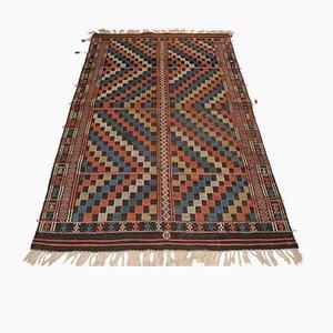 Vintage Anatolian Cicim Flatweave Carpet