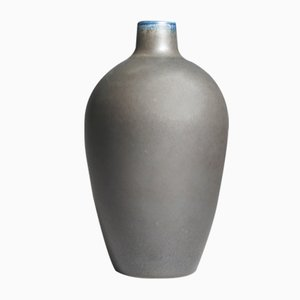 Mid-Century Stoneware Vase by Erich & Ingrid Triller for Tobo