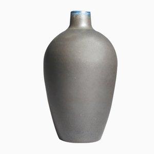 Mid-Century Vase aus Steingut von Erich & Ingrid Triller für Tobo