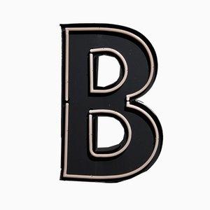 Großer Vintage Werbebuchstabe B