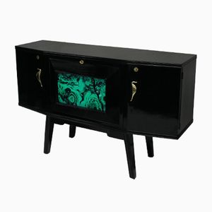 Lacquered Credenza, 1950s