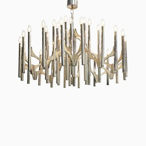 Large Chandelier by Gaetano Sciolari, 1970s