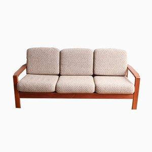 Vintage Danish Teak 3-Seater Sofa