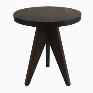 Lollipop Side Table in Dark Brown by Dejan Stanojevic for ASTALfurniture