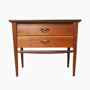 Nightstand by Louis van Teeffelen for Wébé, 1960s