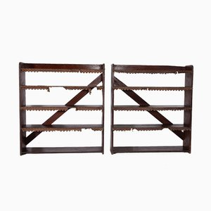 Country Bookcases, 1860s, Set of 2