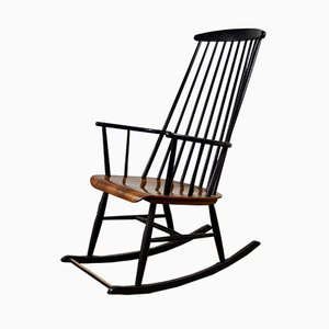 Rocking Chair par Ilmari Tapiovaara, 1950s