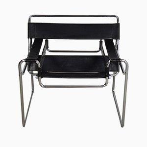 Vintage B3 Armchair by Marcel Breuer for Gavina