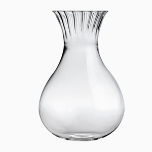 Routine Low Carafe in Transparent Blown Glass by Matteo Cibic for Paola C., 2018
