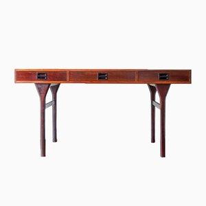 Vintage Schreibtisch aus Palisander von Nanna Ditzel für Søren Willadsen, 1950er