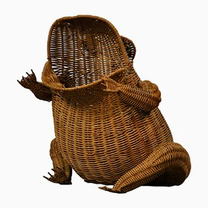 Toad Newspaper Holder by Olivier Cajan, 1970s