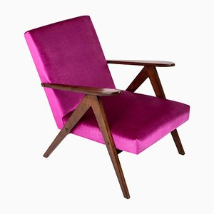 B-310 VAR Magenta Pink Armchair, 1960s