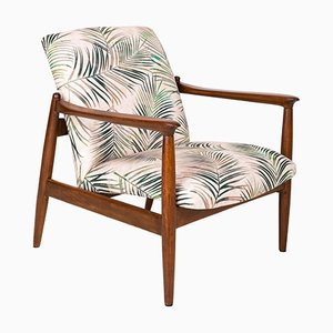 Vintage Palm Tree Armchair by Edmund Homa, 1960s