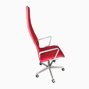 Chaise de Bureau Oxford par Arne Jacobsen pour Fritz Hansen, 1980s