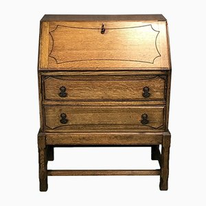 Vintage Oak Secretaire