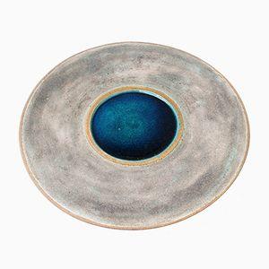 Stoneware Platter by Bruno Gambone, 1980s